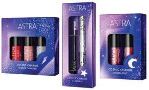 Astra makeup: Collezione Cosmic Charme per Natale 2018