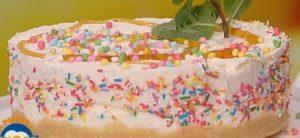Dolci La prova del cuoco: cheesecake agli struffoli di Emanuele Vallini
