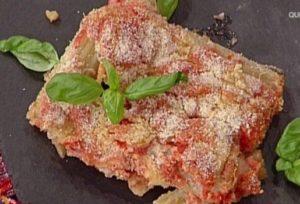 La prova del cuoco oggi: ricetta parmigiana di cardi di Clara Zani