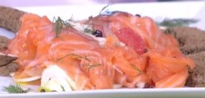 Detto Fatto, 18 dicembre: salmone marinato di Gianfranco Pascucci