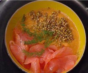 La prova del cuoco: vellutata di zucca con lenticchie di Clara Zani