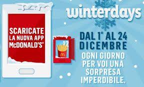 McDonald's Winter Days: l'imperdibile offerta del 22 dicembre 2018