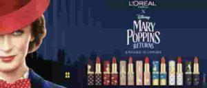 L'Oreal Paris: Come sono i Rossetti della collezione Mary Poppins