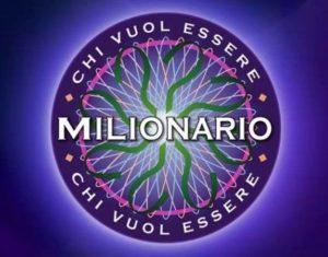 Ascolti tv,18 gennaio: Chi vuol essere milionario batte Superbrain