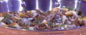 Ricette Detto Fatto, 24 gennaio: pasta risottata di Andrea Mainardi