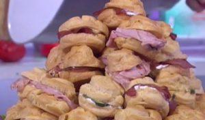 Ricette Detto Fatto oggi: profiteroles salati di Andrea Mainardi