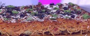 Detto Fatto oggi: ricetta pizza di spaghetti di Andrea Mainardi