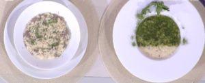 Detto Fatto oggi: ricetta risolio con salsiccia di Ilario Vinciguerra