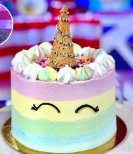 Detto Fatto oggi: ricetta unicorn cake di Francesco Saccomandi