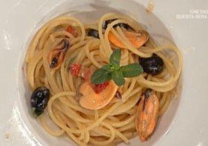 La prova del cuoco oggi: spaghettoni con melanzane di Bongiovanni