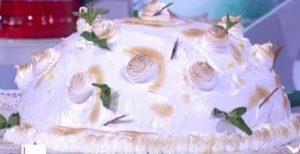 Detto Fatto dolce di oggi: ricetta cupola di gelato di Andrea Mainardi