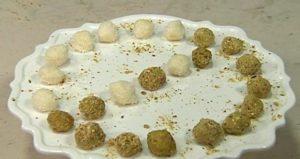 Cotto e mangiato: ricetta tartufini verdi e bianchi di Tessa Gelisio