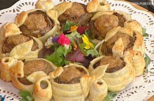La prova del cuoco: ricetta carciofi in torta di Cattelani e Messeri