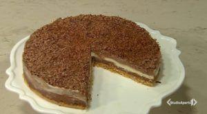 Cotto e mangiato oggi: cheesecake ai tre cioccolati di Tessa Gelisio