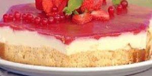 Dolce La prova del cuoco: cheesecake con robiola di Emanuele Vallini