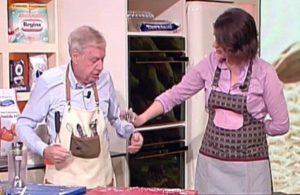 Claudio Lippi a La prova del cuoco, 17 maggio: guacamole di piselli