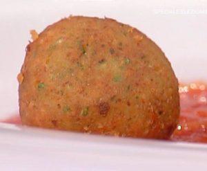 La prova del cuoco oggi: ricetta polpette di ceci di Elisa Isoardi