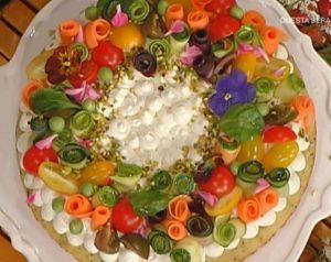 La prova del cuoco oggi: torta estiva in padella di Natalia Cattelani