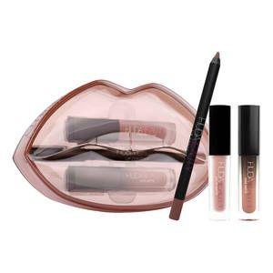 Huda Beauty: Matte et Cream Lip Set è il cofanetto labbra
