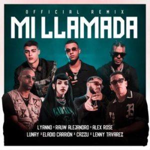 Lyanno, Rauw Alejandro, Lunay, Alex Rose, Cazzu, Eladio Carrion, Lenny Tavarez – Mi Llamada: testo e traduzione canzone