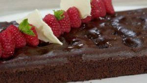 Dolce Ricette all'italiana: torta cioccolato e lamponi di Anna Moroni