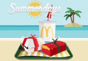 McDonald's Summerdays: Scopri l'offerta del 31 luglio 2019
