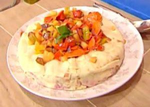 Ricette La prova del cuoco: ciambellone di pane carasau di Bongiovanni