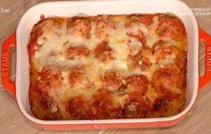 Ricette La prova del cuoco: polpette alla parmigiana di Bongiovanni