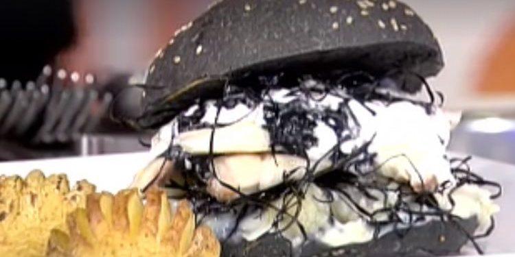 Detto Fatto Fishburger black white