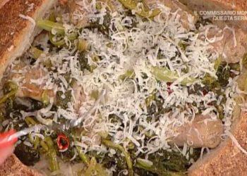 La prova del cuoco pagnotta con salsicce e broccoletti