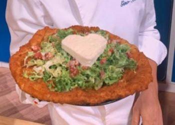 La prova del cuoco cotoletta di pizza