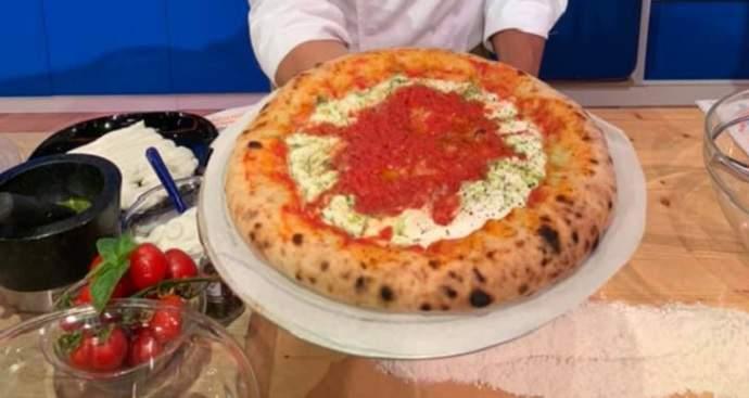 La prova del cuoco pizza con cornicione ripieno