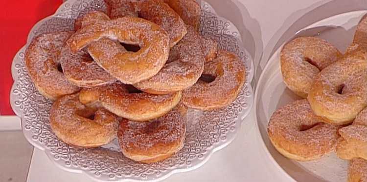 La prova del cuoco ciambelle dolci di patate