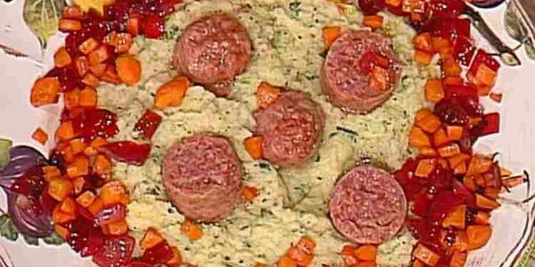 La prova del cuoco cotechino polenta broccoli Spisni