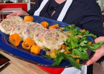 La prova del cuoco galantina di pollo