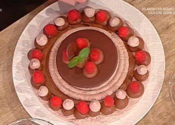 La prova del cuoco meringata al cioccolato Castagna