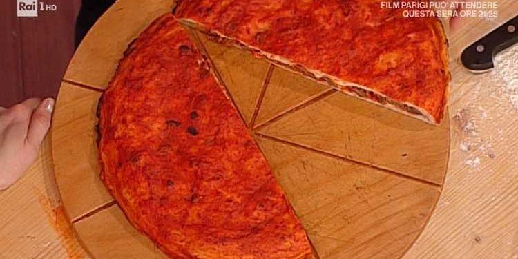 La prova del cuoco pizza con soffritto napoletano