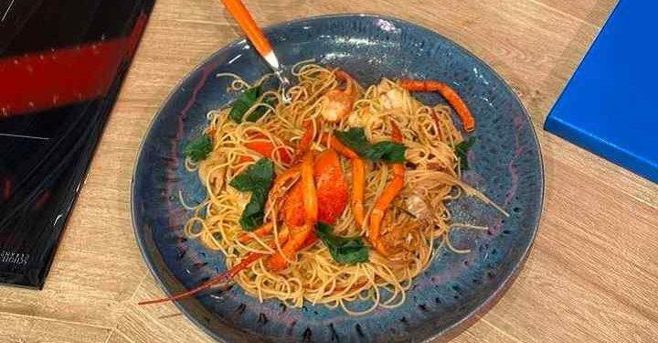 La prova del cuoco spaghetti con astice Pascucci