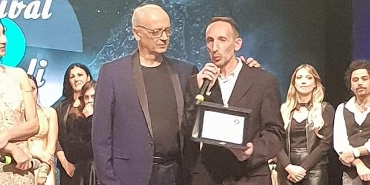 Luca Maris premio speciale Festival di Napoli