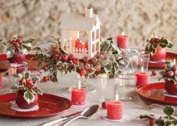 Natale cliccandonews decorare la tavola