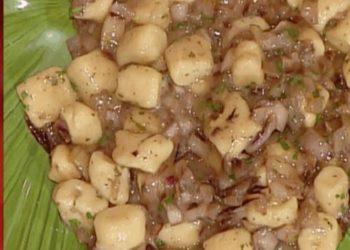 La prova del cuoco gnocchetti di ricotta con radicchio