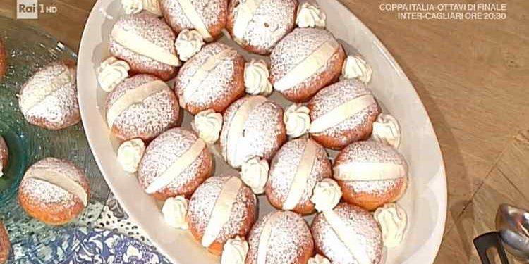 La prova del cuoco maritozzi panna crema pasticcera