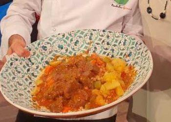 La prova del cuoco cous cous di carne