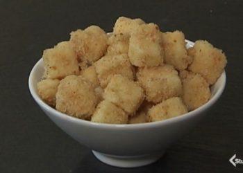 Cotto e mangiato crocchette di latte salate