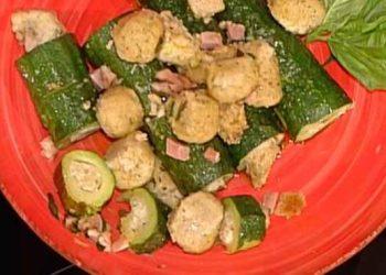 La prova del cuoco zucchine ripiene di ricotta