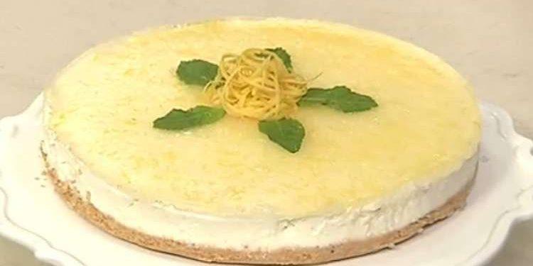 Cotto e mangiato cheesecake al limone