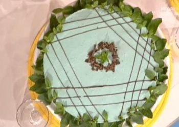 Detto fatto torta menta cioccolato
