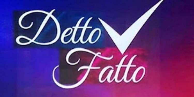 Detto Fatto logo ricetta