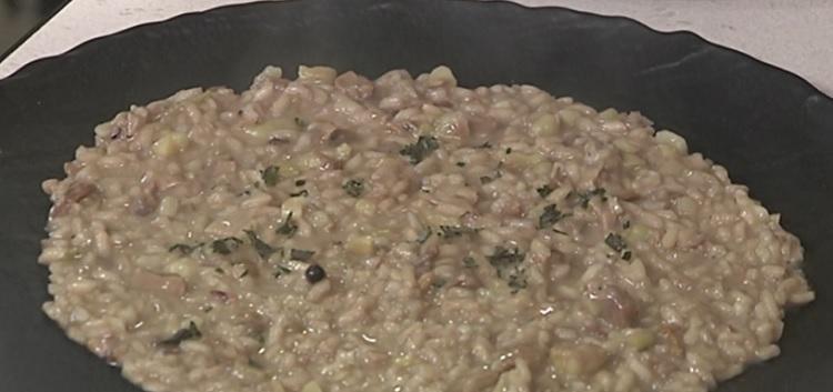 Cotto e mangiato risotto funghi porcini castagne