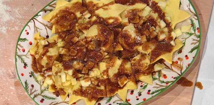 Stelle alle mele piccanti è sempre mezzogiorno